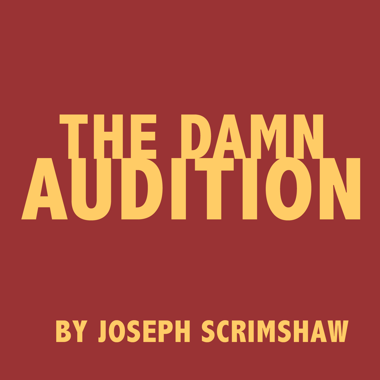 The Damn Audition PDF