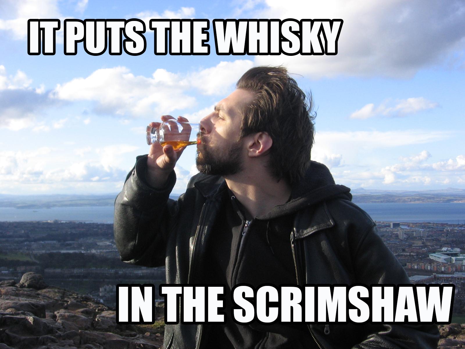 LOLScrimshawWhisky